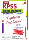 2015 KPSS Co�rafya Web ��z�ml� Soru Defteri X Yay�nlar�