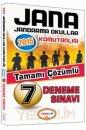 JANA Sınavı Tamamı Çözümlü 7 Deneme Yediiklim Yayınları