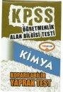 ÖABT Kimya Öğretmenliği Çek Kopart Yaprak Test Yediiklim Yayınları