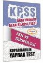 ÖABT Fen ve Teknoloji Öğretmenliği Çek Kopart Yaprak Test Yediiklim Yayınları
