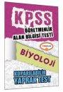 ÖABT Biyoloji Öğretmenliği Çek Kopart Yaprak Test Yediiklim Yayınları