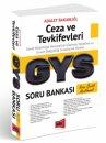 2017 Yargı Yayınları GYS Ceza ve Tevkifevleri Konu Özetli Açıklamalı Soru Bankası