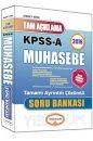 2016 KPSS A Grubu Açıklamalı Muhasebe Soru Bankası Yediiklim Yayınları