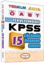 2015 ÖABT Fen ve Teknoloji Öğretmenliği Tamamı Çözümlü 15 Deneme Sınavı Yediiklim Yayınları