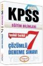 2015 KPSS E�itim Bilimleri ��z�ml� 7 Deneme S�nav� Yediiklim Yay�nlar�