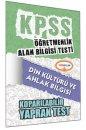 ÖABT Din Kültürü ve Ahlak Bilgisi Öğretmenliği Çek Kopart Yaprak Test Yediiklim Yayınları