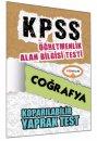 2015 ÖABT Coğrafya Öğretmenliği Çek Kopart Yaprak Test Yediiklim Yayınları