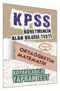 ÖABT Ortaöğretim Matematik Öğretmenliği Çek Kopart Yaprak Test Yediiklim Yayınları
