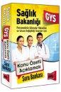 2018 GYS Sağlık Bakanlığı Konu Özetli Açıklamalı Soru Bankası Yargı Yayınları