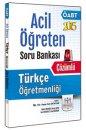 2015 ÖABT Türkçe Öğretmenliği Acil Öğreten Çözümlü Soru Bankası Müfredat Yayınları