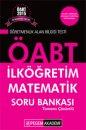 2015 ÖABT İlköğretim Matematik Tamamı Çözümlü Soru Bankası Pegem Yayınları