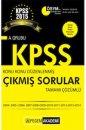 2015 KPSS A Grubu Konu Konu Düzenlenmiş Tamamı Çözümlü (2004-2014) Çıkmış Sorular Pegem Yayınları
