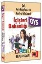 GYS İçişleri Bakanlığı Şef, Veri Hazırlama Kontrol İşletmeni İçin Soru Bankası Yargı Yayınları