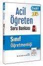2015 ÖABT Sınıf Öğretmenliği Acil Öğreten Soru Bankası Müfredat Yayınları