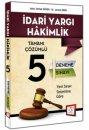 2015 İdari Yargı Hakimliği Tamamı Çözümlü 5 Deneme Sınavı 657 Yayınları