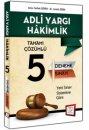 2015 Adli Yargı Hakimliği Tamamı Çözümlü 5 Deneme Sınavı 657 Yayınları
