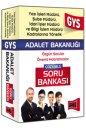 GYS Adalet Bakanlığı Yazı İşleri,Şube ve İdari İşler Müdürü İçin Çözümlü Soru Bankası Yargı Yayınları