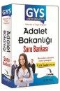 GYS Adalet Bakanlığı Tam İsabet Serisi Bakanlık ve Taşra Teşkilatı Soru Bankası Kitapseç Yayınları
