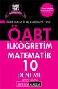 2015 ÖABT İlköğretim Matematik Öğretmenliği Tamamı Çözümlü 10 Deneme Pegem Yayınları