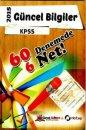 2015 KPSS Güncel Bilgiler 60 Deneme 6 Net N Kitap Yayınları