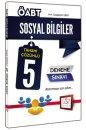 2015 ÖABT Sosyal Bilgiler Öğretmenliği Tamamı Çözümlü 5 Deneme Sınavı 657 Yayınları