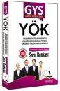 GYS YÖK Açıklamalı Çözümlü Özgün Soru Bankası Kitapseç Yayınları