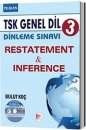 TSK Genel Dil Dinleme S�nav� 3 Restatement & Inference