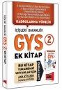 GYS İçişleri Bakanlığı Konu Özetli Soru Bankası 2.Kitap Yargı Yayınları