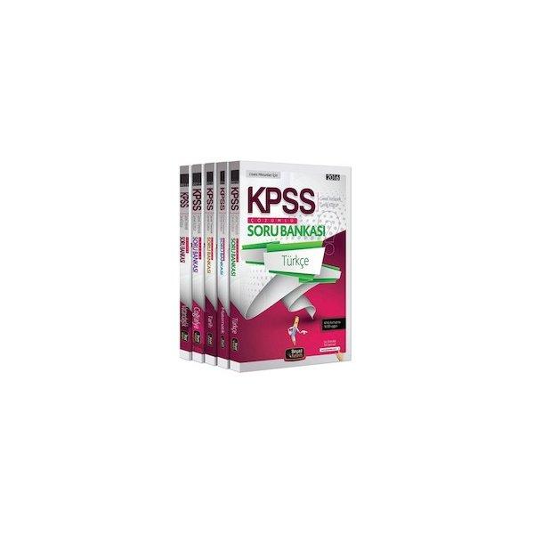2016 KPSS Genel Kültür Genel Yetenek Çözümlü Modüler Soru Bankası Beyaz Kalem Yayınları