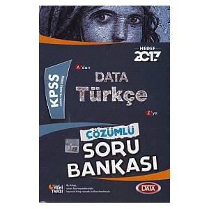 2017 KPSS Türkçe Soru Bankası Data Yayınları
