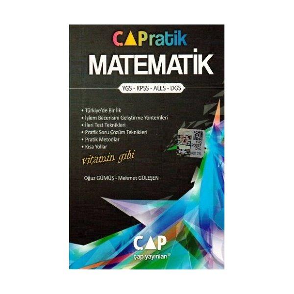 çap Yayınları çapratik Matematik Cep Kitabı