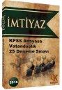 2016 KPSS �mtiyaz Vatanda�l�k 25 Deneme S�nav� Kariyer Meslek Yay�nlar�
