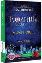 2016 KPSS Kozmik Oda Sözel Bölüm Konu Kitabı Yargı Yayınları