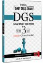 2016 DGS Son 3 Yıl Çözümlü Çıkmış Sorular Yargı Yayınları