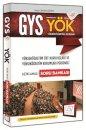 GYS YÖK Açıklamalı Soru Bankası 657 Yayınları