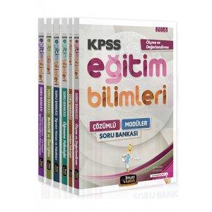 2016 KPSS Eğitim Bilimleri Çözümlü Modüler Soru Bankası Seti Beyaz Kalem Yayınları