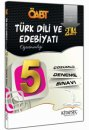 2014 KPSS ÖABT Türk Dili ve Edebiyatı Öğretmenliği Tamamı Çözümlü 5 Deneme Kitapseç Yayıncılık