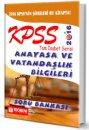 2016 KPSS Anayasa Soru Bankası Tam İsabet Serisi Teorem Yayınları