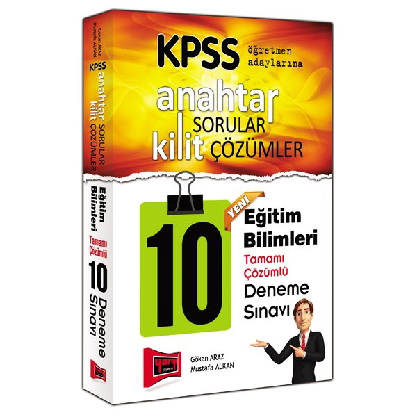 2017 KPSS Anahtar Sorular Kilit Çözümler Eğitim Bilimleri 10 Deneme Sınavı Yargı Yayınları