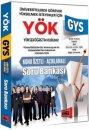 2016 GYS YÖK Açıklamalı Konu Özetli Soru Bankası Yargı Yayınları