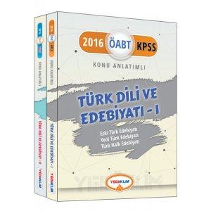 2016 ÖABT Türk Dili ve Edebiyatı Öğretmenliği Konu Anlatımlı Modüler Set Yediiklim Yayınları