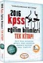 2016 KPSS Eğitim Bilimleri Konu Anlatımlı Tek Kitap Yediiklim Yayınları