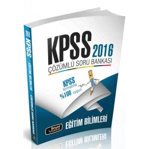 2016 KPSS Eğitim Bilimleri Çözümlü Soru Bankası Beyaz Kalem Yayınları