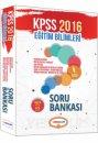 2016 KPSS Eğitim Bilimleri Soru Bankası Yediiklim Yayınları