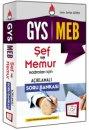 2016 GYS MEB Şef ve Memurlar İçin Açıklamalı Soru Bankası 657 Yayınları