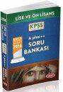 2016 KPSS Lise �nlisans A Plus ++ Soru Bankas� Data Yay�nlar�