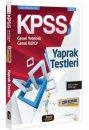 2016 KPSS Genel Kültür Genel Yetenek Çek Kopar Yaprak Test Beyaz Kalem Yayınları