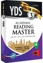 2016 YDS Academic Reading Master Alt�n Seri 3 Yarg� Yay�nlar�