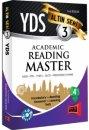 2016 YDS Academic Reading Master Alt�n Seri 3 Yarg� Yay�nlar�
