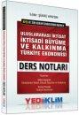 2016 KPSS A Grubu Uluslararası İktisat İktisadi Büyüme ve Kalkınma Türkiye Ekonomisi Ders Notları Yediiklim Yayınları